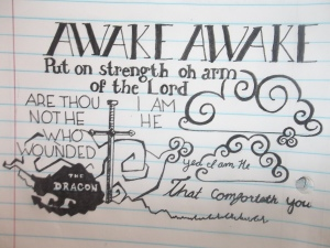 Lindsay - Awake Doodle