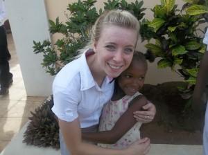Lindsay - Little girl who holds her hand