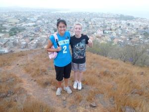 Lindsay Sister Yerman on a hill