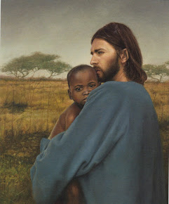 Christ and african child
