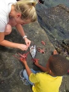 Lindsay Beach P-Day with little boy