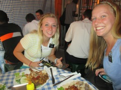 Lindsay MIssion - June 2014 - Last lunch with Sister Turley