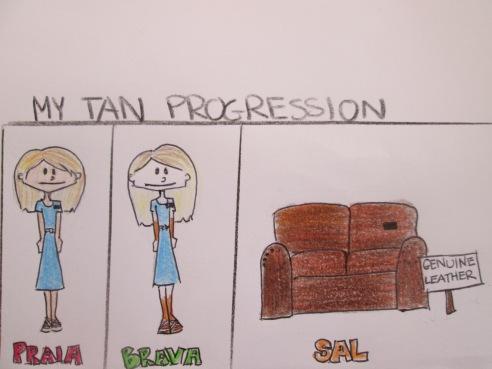 Lindsay Mission - Tan Progression - July 2014